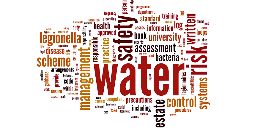 Water Safety word cloud