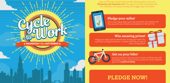 Cycle to work day flyer